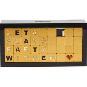 JIMMY CHOO 'Let's Play' Word Puzzle Box Clutch